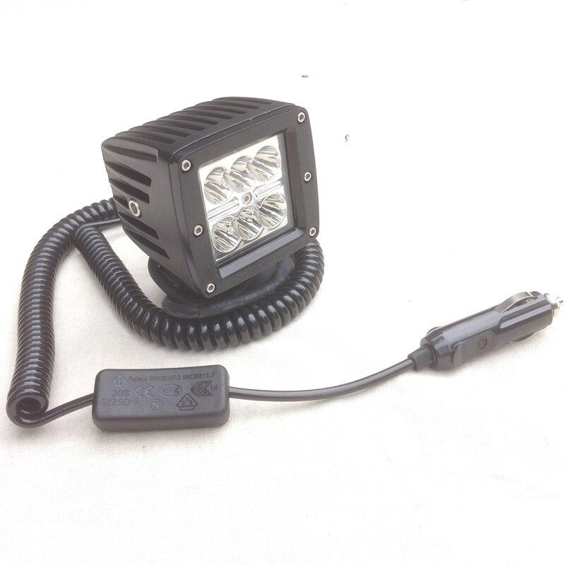 12v24v Car 4x4 Offroad ATV SUV Truck spot Flood head light fog lamp Magnetic Autos Spotlights