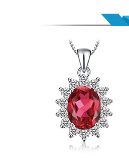 HTB1RtG8aRCw3KVjSZFuq6AAOpXaf JewPalace Princess Diana Created Red Ruby Ring 925 Sterling Silver Rings for Women Engagement Ring Silver 925 Gemstones Jewelry