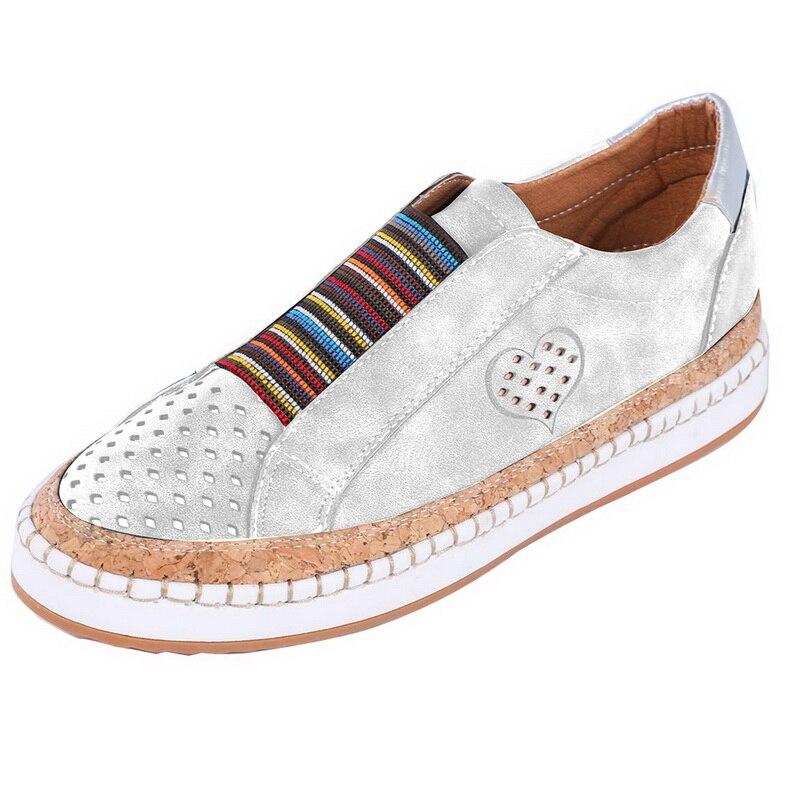 Экспресс-; женская обувь; повседневная обувь из вулканизированной кожи; кроссовки; женские удобные слипоны; лоферы на плоской подошве; zapatos mujer; Прямая поставка