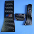 Car Accessories Accelerator FootRest Gas Brake Pedals Pad For BMW X5 X6 Series E70 E71 E72 F15 AT Auto pads Car stickers covers