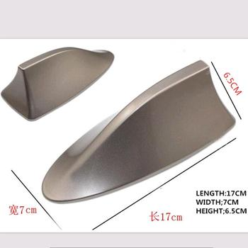 Car Styling Shark Fin Antenna for Audi A4 B5 B6 B8 A6 C5 C6 A3 A5 Q3 Q5 Q7 BMW E46 E39 E90 E36 E60 E34 E30 F30 F10 Accessories image