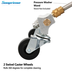 Image 5 - Sooprinse Pressure Washer Water Broom,Surface Cleaner,Power Washer Cleaner,Sweep Floors,1/4 inch Male quick disconnect,4000PSI