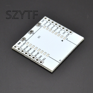 Image 3 - 10個ESP8266シリアル無線lanモジュールアダプタプレートESP 07に適用され、ESP 08、ESP 12