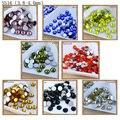Jewelry making beads 1440pcs/pack SS16 glue on flatback non-hotfix rhinestone for decorations Faceted rhinestone
