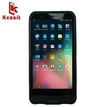 "China Terminal portátil de PDA 6 ""Rugged Tablet PC impermeable teléfono Android 5,1 2G RAM 4G LTE 1D 2D Escáner DE CÓDIGO DE Barras láser NFC GPS"