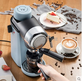220V Full-automatic Electric Coffee Machine 5 Bar Mini Coffee Pot Household 240ML Electric Coffee MilkBubble Maker EU/AU/UK 110 220v 32 grids commercial electric kanto cooking machine oden machine wooden anti scald spicy hot pot meatball eu au uk us