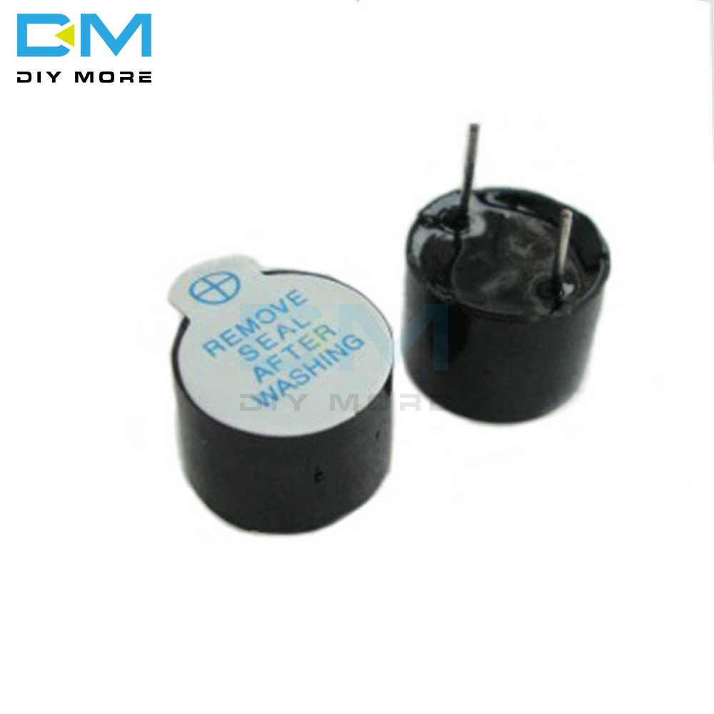 5PCS 12V Active Buzzer Magnetic Long Continous Beep Tone Alarm Ringer 12MM