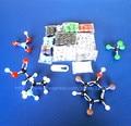 Modelos de kit LZ-23177 estrutura da molécula química orgânica modelo molecular set aluno e professor estuches escola frete grátis