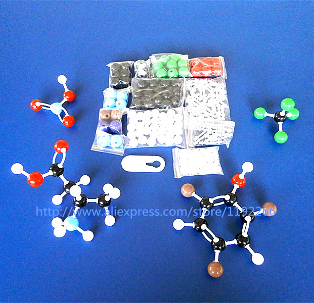 molecular model kit LZ-23177 chemistry organic molecule structure models set student and teacher estuches school free shipping organic chemistry 4th edition sample