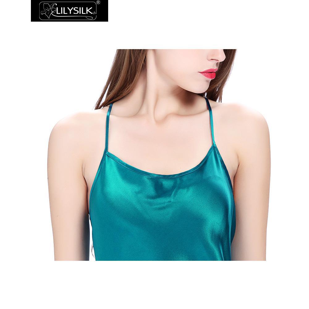dark-teal-22-momme-crossed-back-silk-nightgown-05
