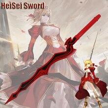 Фотография Cosplay Fate Fate/EXTRA CCC Nero Sword Japanese Anime Cartoon Katana Real Weapon