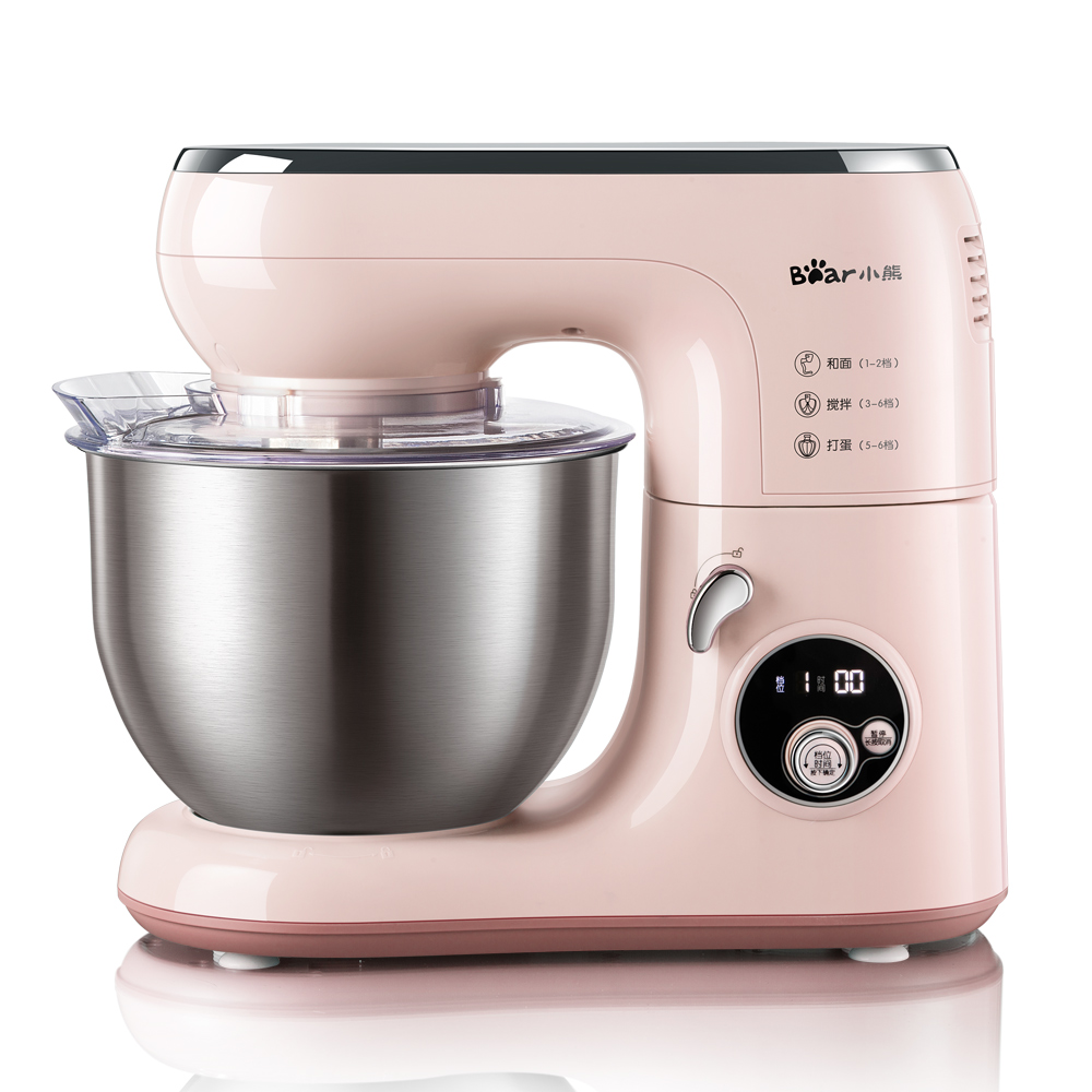 220V Pink Color Bear Brand Multifunctional Electric Dough Mixer 5L Kitchen Stand Egg Salad Bread Cream Beater EU/AU/UK/US Plug220V Pink Color Bear Brand Multifunctional Electric Dough Mixer 5L Kitchen Stand Egg Salad Bread Cream Beater EU/AU/UK/US Plug