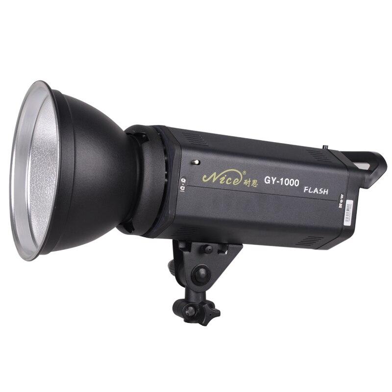 NiceFoto gy 1000w лампа вспышка фотографии свет Студия флэш съемки светлый фон свет