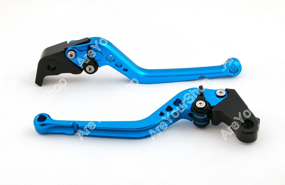 Motorcycle Long Brake Clutch Levers For Buell 1125 R/CR For Kawasaki ZX7R ZX9 ZX1100 ZRX1100 ZZR1200 ZG1000 For Yamaha FJR 1300 billet alu folding adjustable brake clutch levers for motoguzzi griso 850 breva 1100 norge 1200 06 2013 07 08 1200 sport stelvio