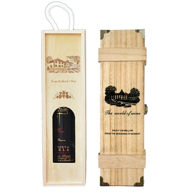1 stücke Hersteller Nach Maß Großhandel Wein Box Qualitativ ...