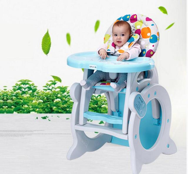 Montar Cadeira de Alimentação Do Bebê multifuncional Cadeira de Jantar Do Bebê Portátil Assento Macio Cadeira de Bebé Alta Variam Crianças Aprendendo Mesa C01
