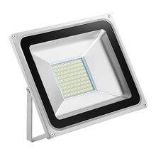 2 шт. Светодиодный прожектор наружное освещение 100 Вт 220 В 5600LM 189LED SMD5730 Прожекторы Для улицы, Площади Шоссе Открытый афиши стены