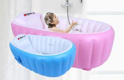 Подушка для купания младенцев бассейна безопасности надувная Ванна складной воздуха бассейн детская ванночка подушки ножной велосипедный...