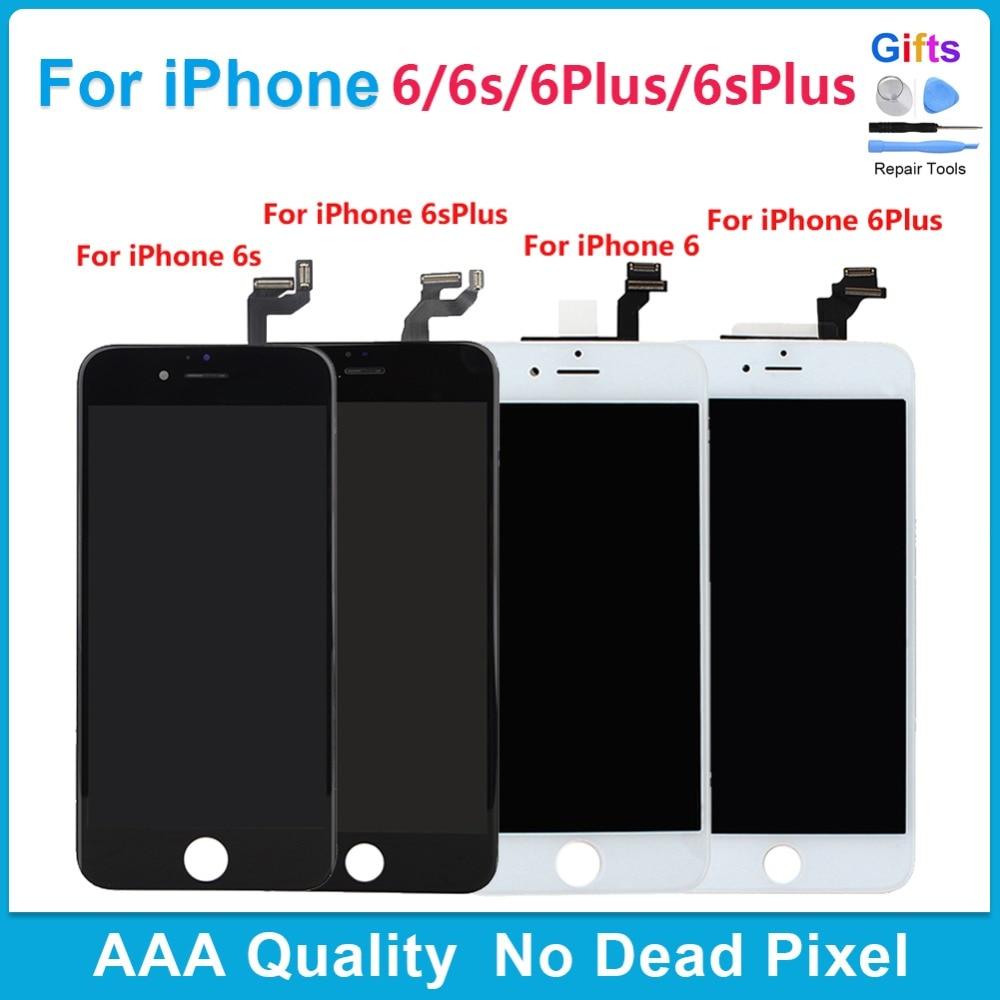 Blanco negro 6 más 6 s Plus pantalla LCD + pantalla táctil ...