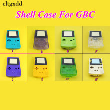 цена на cltgxdd 10PCS 8Colors Housing Shell for Nintendo For GameBoy Color For GBC Housing Case Pack