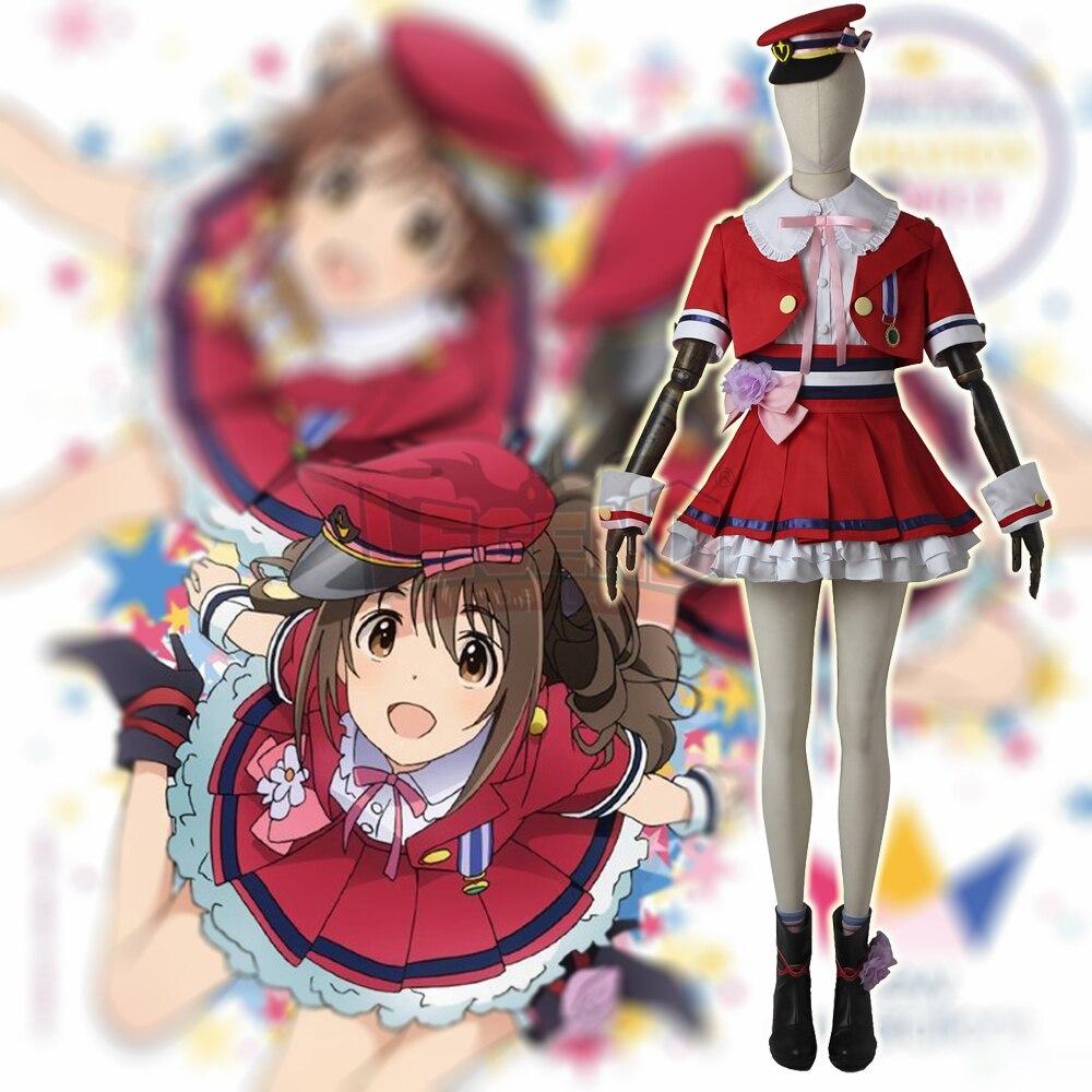 The IDOLM@STER Cinderella Girls new generations Shimamura Uzuki Cosplay adult custom made Halloween costume girl costume