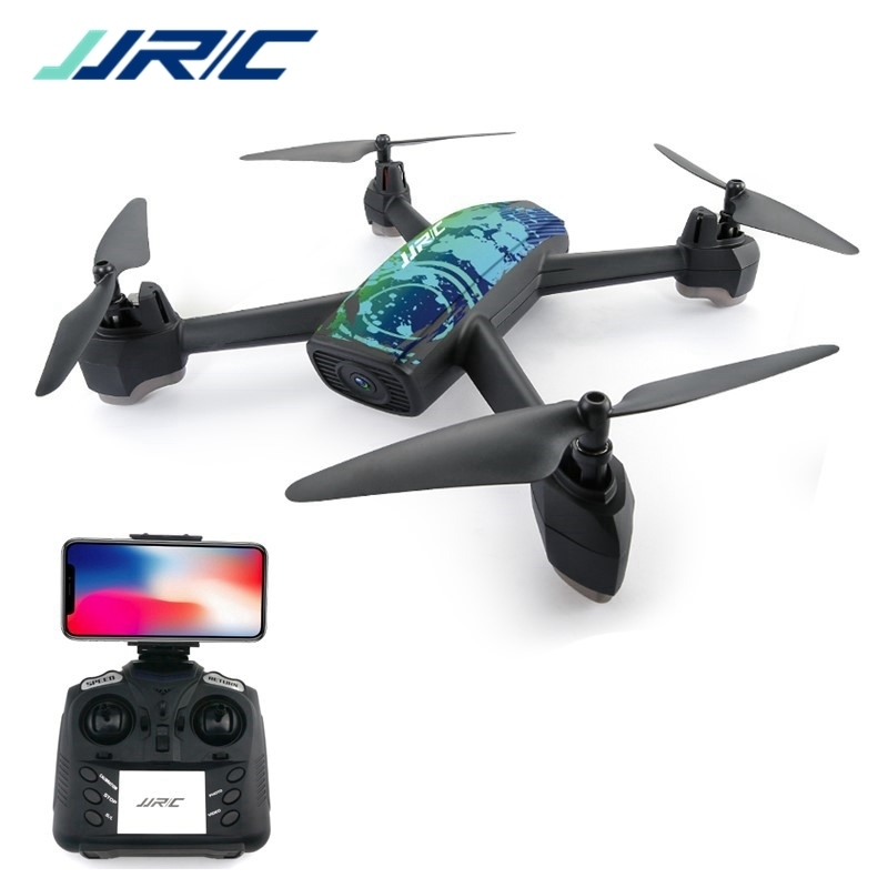 En Stock JJRC H55 TRACKER WIFI FPV avec caméra HD 720 P GPS positionnement Drone RC quadrirotor Camouflage RTF VS E58 H37