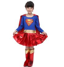 Girl Super Woman Halloween Costume