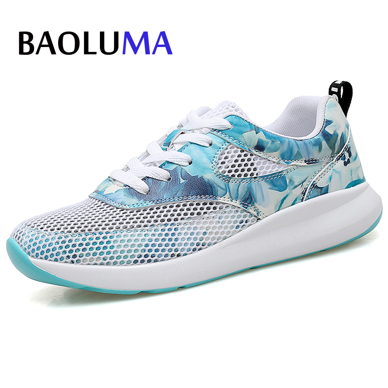 2018 New Woman Flat Light Sneakers Summer Breathable Mesh Female Cheap Casual Korean Shoes Lady Walking Outdoor Comfortable 2018 new summer women casual shoes lace up woman sneakers breathable flat footwear female mesh shoes fashion dt926