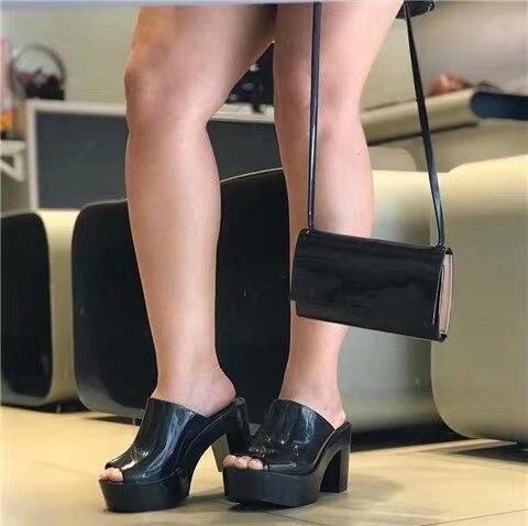Melissa platform sandals 2019 New Women Flat Sandals Brand Jelly Melissa Shoes For Women Solid Sandals Female Shoes Mulher