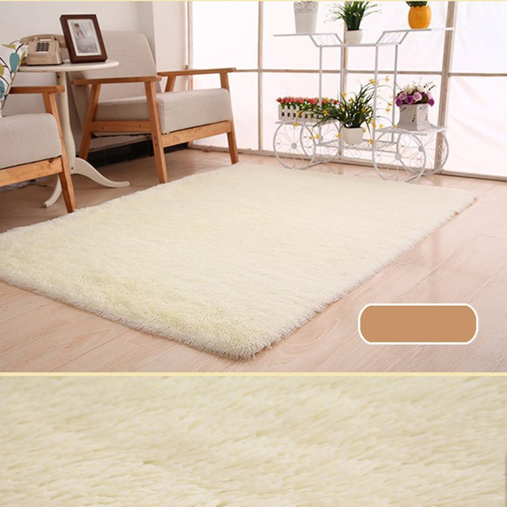 Super Soft  Wool Rug Indoor Carpet Modern Living Room 50CM* 80CM Rugs Bedroom Carpet Floor Mat Gray Baby Nursery Rug Children