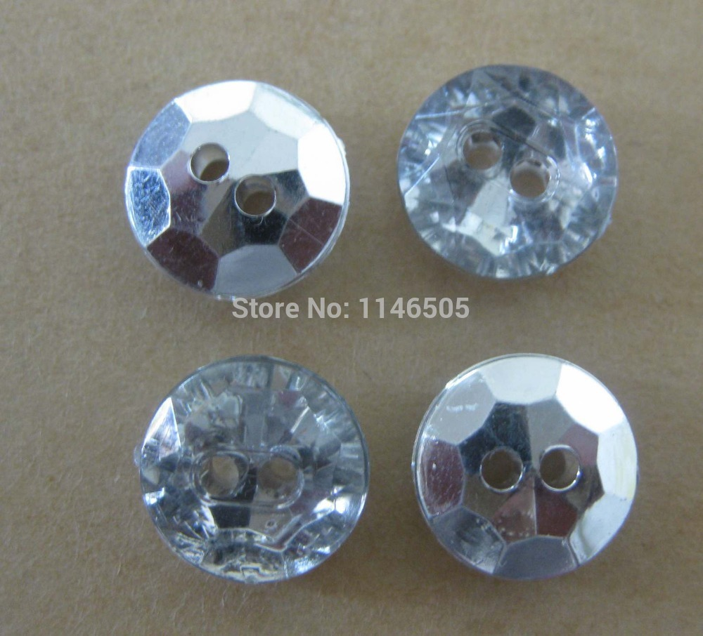 200pcs/lot 11.5mm new silverback crystal button shirt button garment accessory/scrapbooking/sewing accessories