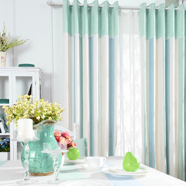 Soft Blackout Curtains Fabrics For Bedroom Chenille Home Window ...