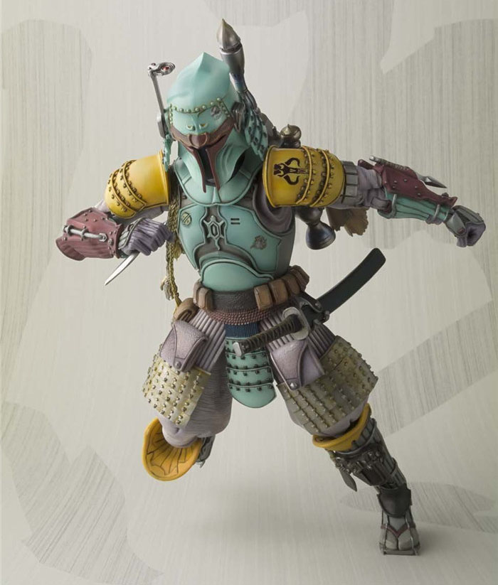 """Free Shipping 7"""" <font><b>Star</b></font> <font><b>Wars</b></font> Samurai Hunter <font><b>Boba</b></font> <font><b>Fett</b></font> Armor Ver. Boxed 18cm PVC Actioin figure Collection Model Doll Toy Gift"""