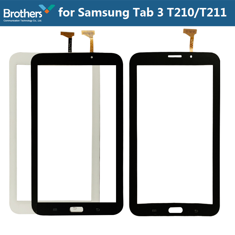 Tablet Touch Panel For Samsung Galaxy Tab 3 7.0 T210 T211 Touch Panel Digitizer Glass Sensor Lens SM-T210 SM-T211 LCD Screen