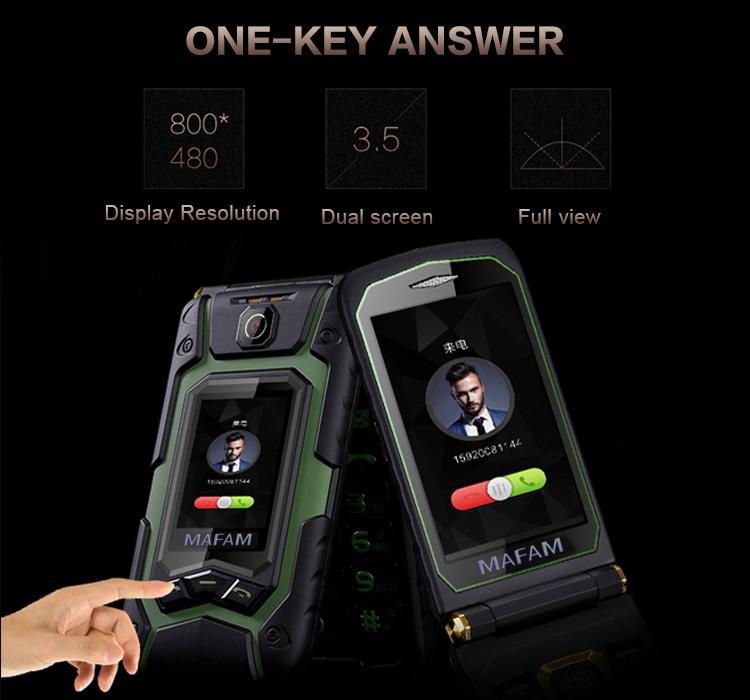 X9 Dual พลาสติกอาวุโสโทรศัพท์มือถือโทรศัพท์ East 13