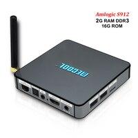 BB2 Pro Smart Android 6 0 Tv Box Amlogic S912 Octa Core 3GB DDR4 RAM 16G