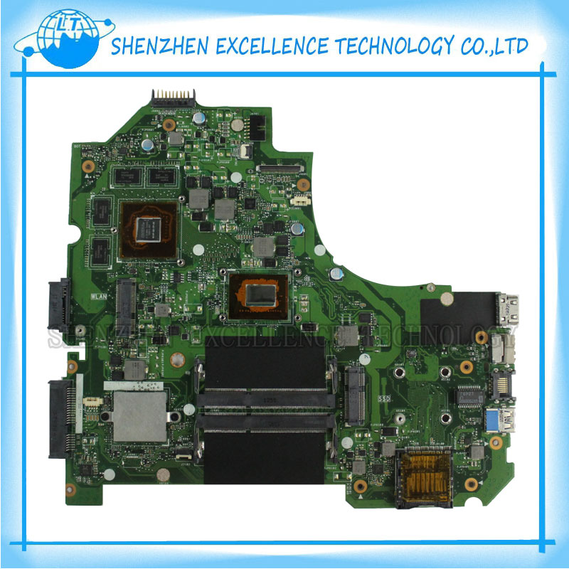 K56CB Laptop Motherboard for ASUS with I7 CPU Non-integrated K56CM mainboard 100% Tested&Free Shipping  k56cb laptop motherboard for asus with i7 cpu non integrated k56cm mainboard 100