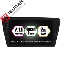 Android 7.1.1 10.1 Pouce Voiture DVD GPS Lecteur Vidéo Pour Skoda/octavia 2017-CANBUS 2G RAM 16 ROM Quad Core Radio Navigation