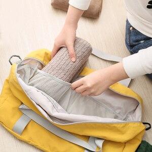 Image 5 - Sacchetto di Spalla di viaggi, di Grandi Dimensioni Pieghevole di Campeggio di Viaggio di Sport Palestra Duffle Bag, Portatile Leggero Sacchetto di Immagazzinaggio del Sacchetto Dei Bagagli Impermeabile