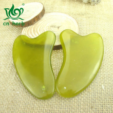 Cn Herb Xiuyan Jade Scraping Board, Scraping, Facial Plate On The Back Free Shipping