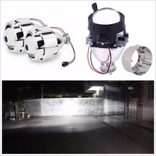 WST 2.5 inch auto car Bixenon HID projector lens bi xenon lens цена