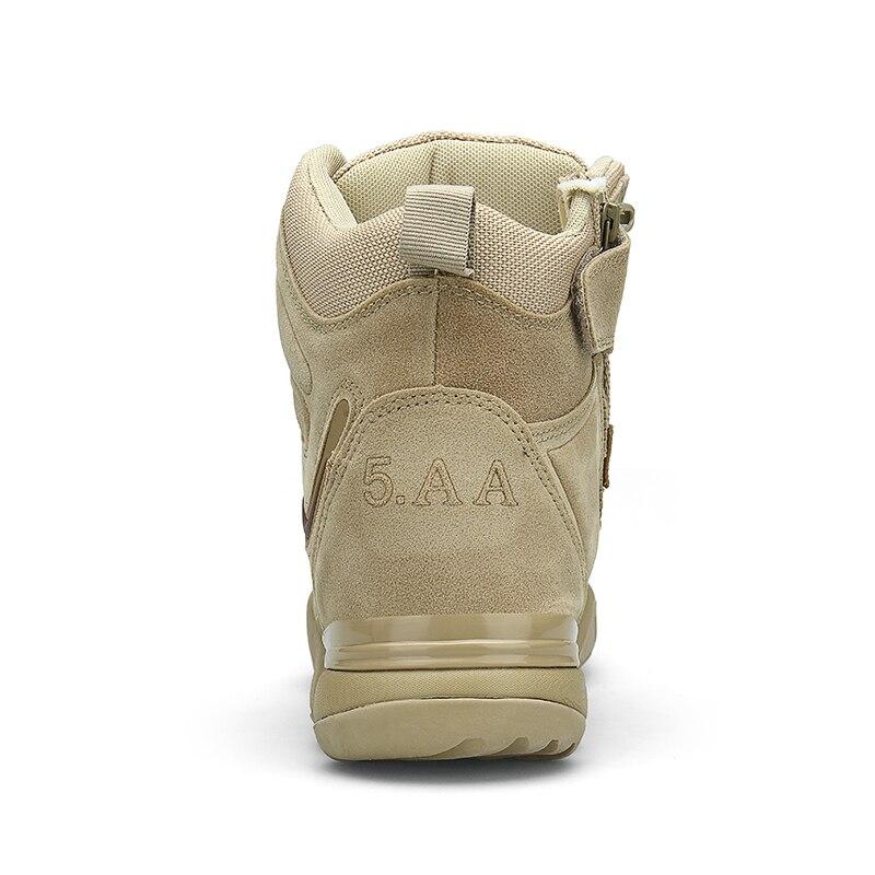 Bottes Qualité Color Noir Spécial Militaires sand Combat Hiver De Haute Travail Tactique Automne Désert Neige Force Chaussures Bateaux Hommes Armée Cheville qURxxEfY