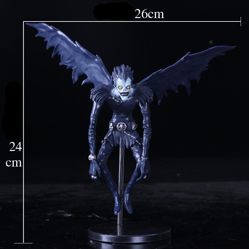 2018 New Death Note L Ryuuku Ryuk PVC Action Figure Anime Collection Model Toy Dolls 24CM anime action figure toy death note ryuuku pvc pop figurine action model toys anime figures japanese figure doll free shipping