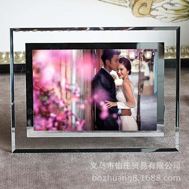 6 inch 7 inch 8 inch 10 inch A4 crystal glass frames swing sets ...
