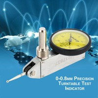0 0 8mm Precision Dial Test Indicator Level Gauge Scale Metric Dovetail Rails High Accuracy Balanced