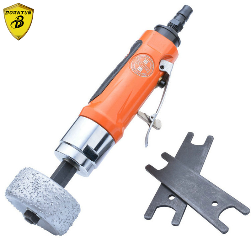 Borntun Pneumatic Air Die Grinder Car Automobile Tyre Tire Polishing Air Grinder Pneumatic Grinding Tools for Hardware Metalwork kalibr ppshm 6 3 170 pneumatic tools grinder grinding machine valve for surface grinding iron tire