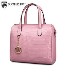 ZOOLER brand women bag 2016 new genuine leather bag high quality luxury fashion serpentine women handbag shoulder messenger bag