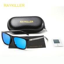 RAYKILLER Classic High Definition Polarized Aluminium Magnesium Frame Sunglasses Fashion Design Glasses gafas de sol