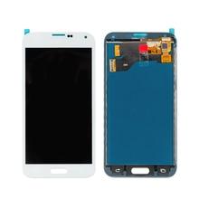 200 PCS/Lot Penggantian Suku Cadang Ponsel untuk Samsung Galaxy S5 SM-G900F SM-G900M G900A LCD Display Layar Sentuh Digitizer LCD