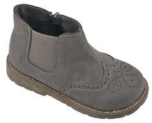 Nou! Copii pantofi fete pantofi cizme cizme chaussure fille sapato menina cizme gri pentru toamna SandQ baby hard toe & heel nonslip